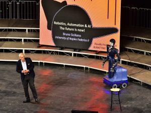 Al Ravello Festival il primo robot direttore d'orchestra, il