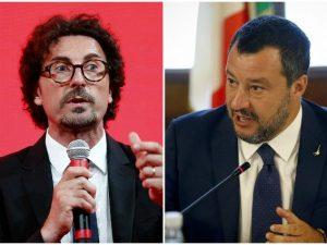 """Danilo Toninelli contro Matteo Salvini: """"Lavori, c'è tanto d"""
