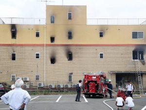 """Giappone, appicca fuoco alla Kyoto animation: """"Ci sono morti"""