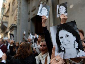 Malta, chiesti tre ergastoli per l'omicidio della giornalist