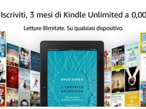 Amazon Prime Day 2019: l'offerta di Amazon Kindle Unlimited