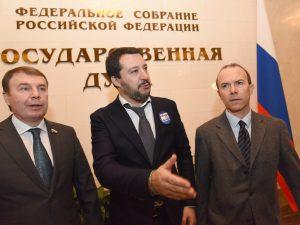 Fondi russi alla Lega: Guardia finanza a casa di Vannucci, i