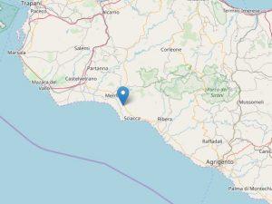 Terremoto, sciame sismico a Menfi: scossa di magnitudo 2.8,