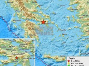 Atene, forte scossa di terremoto di magnitudo 5.3