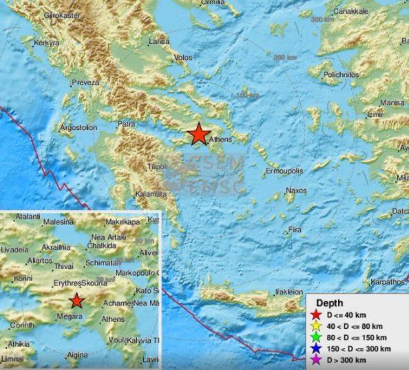 Forte terremoto in Grecia, scossa di 5.1 ad Atene: gente in strada e ...