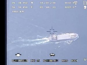 Iran, Pasdaran sequestrano petroliera britannica nello Stret
