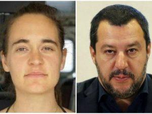 """Salvini attacca di nuovo Carola Rackete: """"Non vedo l'ora di"""