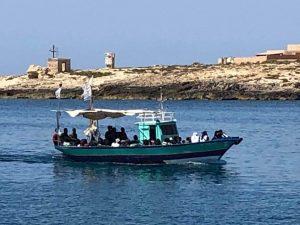 Lampedusa, nuovo sbarco: arrivati nella notte 16 migranti sc