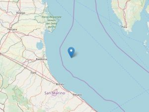 Terremoto in Romagna, scossa di magnitudo 2.8 scuote la cost