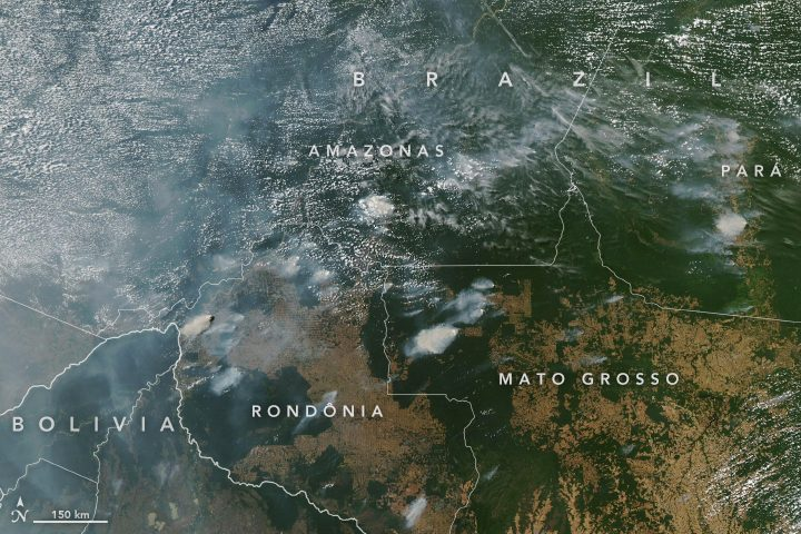 La Foresta Amazzonica va a fuoco: 10mila incendi nell'ultima ...