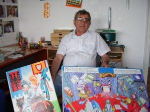 È morto Giulio Chierchini, il disegnatore che ha fatto la st