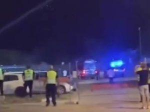 Violenti scontri tra tifosi del Brindisi e del Foggia dopo l