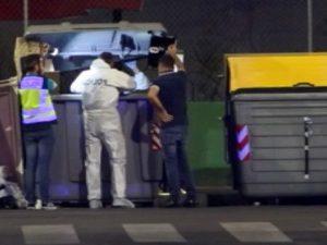 Alicante |  senzatetto cerca cibo nella spazzatura e fa una scoperta choc |  c'è un neonato