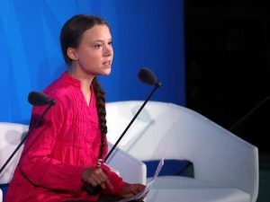 "Greta Thunberg ai leader mondiali: ""Avete rubato la mia infa"
