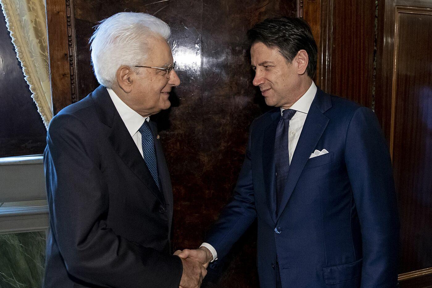 Mattarella riceve Conte al Quirinale: Dall'Ue serve una concreta ...