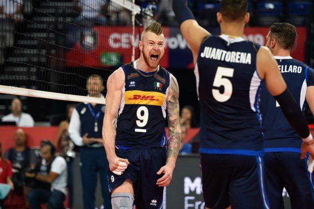 Eurovolley maschile 2019 |  vince ancora l'Italia |  battuta la Grecia per 3-1