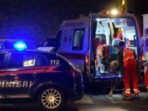 Palermo |  tragico incidente stradale |  due vittime e tre feriti |  un giovane morto