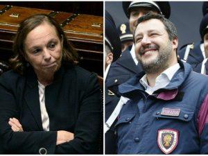 """Lamorgese difende Salvini: """"Possibile uso uniformi di polizi"""