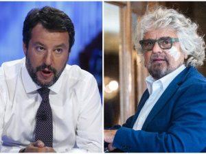 """Togliere il voto agli anziani, Salvini contro Grillo: """"Che schifo, che ..."""