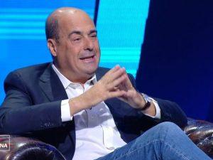 """Governo, Zingaretti: """"Italiani sono stanchi non coglioni, bisogna mantenere la parola"""""""