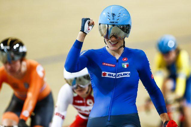Ciclismo, Europei su pista: l'Italia festeggia l'oro di Mari