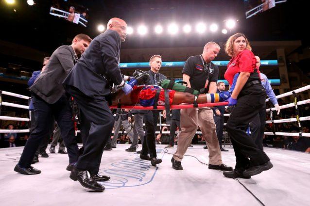 Boxe, Patrick Day lotta tra la vita e la morte dopo ko con C