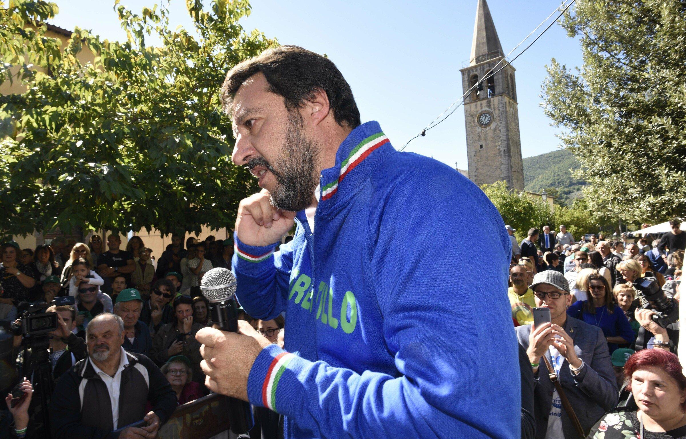 """Matteo Salvini in ospedale per un malore, subito dimesso: """"Sto bene ..."""
