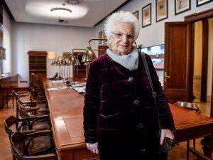 Liliana Segre chiede al Senato una Commissione contro razzis