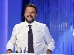 """Matteo Salvini attacca ancora: """"Conte, Renzi e Di Maio mi fa"""