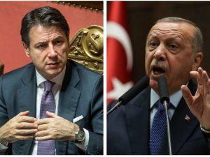 """Siria, Conte al telefono con Erdogan: """"Inaccettabile azione militare contro i curdi"""""""