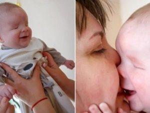 Uno dei tre bimbi al mondo nati senza occhi cerca famiglia perché sua madre l'ha rifiutato