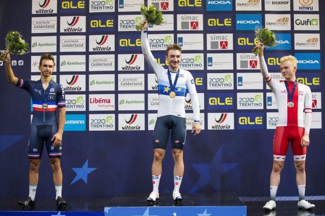 Ciclismo, Europei su pista: medaglia d'oro per Elia Viviani
