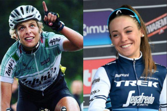 Ciclismo, le azzurre Vittoria Bussi e Letizia Paternoster in