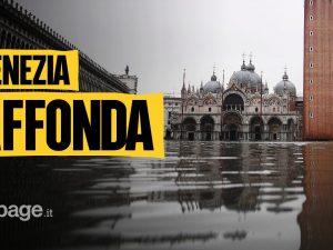 """Acqua alta a Venezia, l'allarme del patriarca: """"Danni irrepa"""