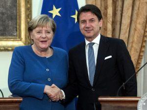 """Conte incontra Merkel: """"Italia e Germania sono i Paesi che p"""