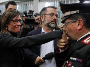 """Cucchi, il carabiniere del baciamano a Ilaria: """"Clamore inaspettato. È ..."""