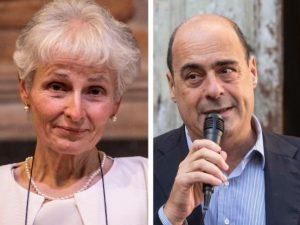Zingaretti dedica l'evento del Pd alla prof sospesa a Palerm