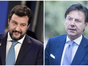 Salvini sfida Conte a un duello in TV