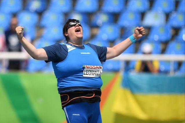 Atletica paralimpica |  Legnante è medaglia d'oro per la quarta volta ai Mondiali di Dubai