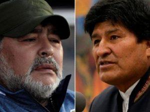 """Maradona sta con Morale: """"E' stato un golpe. Lui ha aiutato"""