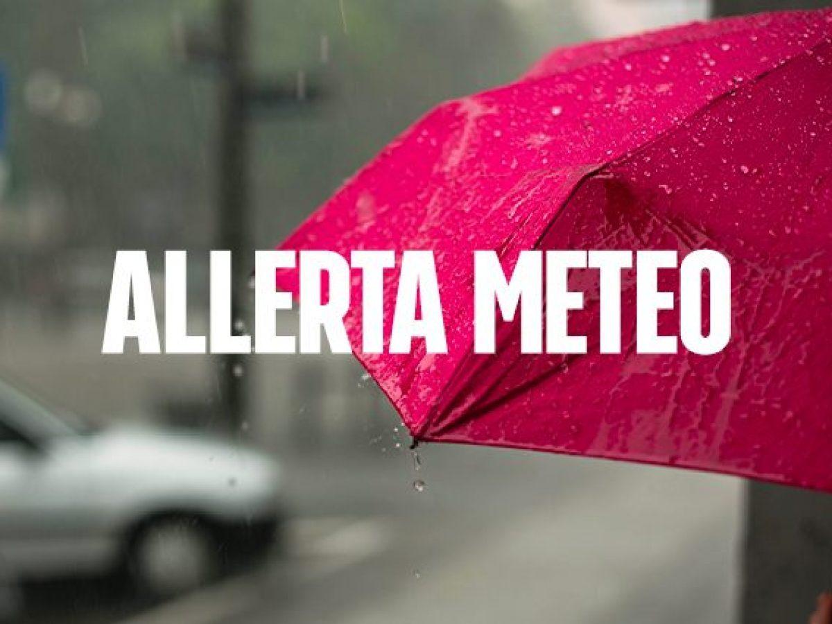 Allerta meteo. Parziale rettifica ordinanza sindacale