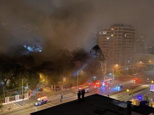 "Cile, incendio danneggia ""Casa Italia"", patrimonio architett"
