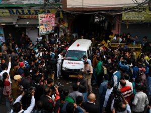 Tragedia in India, incendio in un mercato a New Delhi: almen