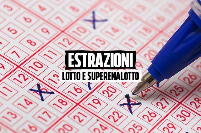 Estrazioni del Lotto di oggi e numeri vincenti SuperEnalotto giovedì ...