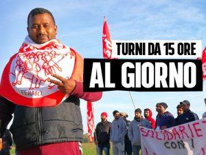 """Gli operai Ambruosi e Viscardi: """"Turni da 15 ore, cacciati q"""