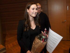 In Finlandia la premier più giovane del mondo: Sanna Marin,