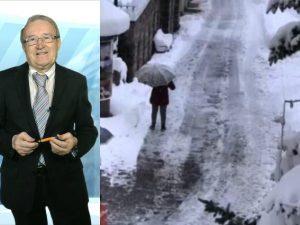 Maltempo con neve e pioggia sull'Italia, le previsioni di Gi