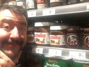 Salvini contro la Nutella, nel 2015 invocava le ruspe contro