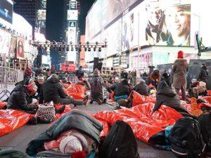 Big Sleep out, la notte per i senzatetto: in migliaia a dorm