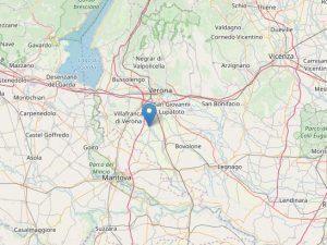 Terremoto nella notte a Verona: epicentro a Vigasio e magnit